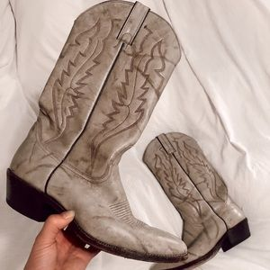 Tan Cowboy/Western Boots, Size 8.5